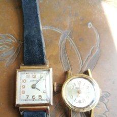 Relojes de pulsera: PAREJA DE RELOJES COPPEL Y THERMIDOR PARA DAMA. RESTAURACIÓN O PIEZAS. Lote 254718690