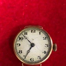 Relojes de pulsera: RELOJ ORO 18K SWISS MADE TIPO OMEGA. Lote 254782580