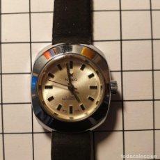 Relojes de pulsera: ANTIGUO RELOJ SRA. MARCA NINO 17 JEWELS - CUERDA - CARGA MANUAL - NUEVO DE MUESTRARIO - 2,5X3 CM. Lote 229105315