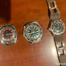 Relojes de pulsera: RELOJES DIVERS ILONA VADUR RELAY AÑOS 70 SUBMARINISMO SUBMARINE. Lote 255007300