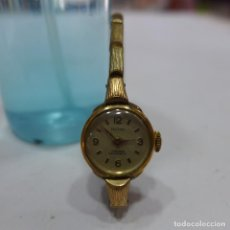Relojes de pulsera: RELOJ DE SEÑORA FESTINA PLAQUE ORO. Lote 255460765