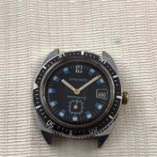 Relojes de pulsera: RELOJ SÚPER WATCH CALENDARIO DIVER VINTAGE. Lote 255656550