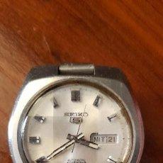 Relojes de pulsera: ANTIGUO RELOJ DE PULSERA CABALLERO,AUTOMATICO SEIKO 5, 21 JEWELS. Lote 255920330