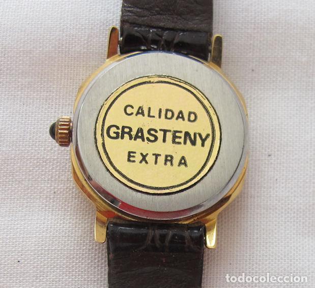 Relojes de pulsera: RELOJ DE CUERDA GRASTENY NOS OCTOGONAL - Foto 3 - 256043795