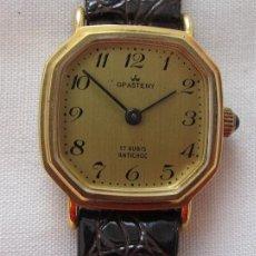 Relojes de pulsera: RELOJ DE CUERDA GRASTENY NOS OCTOGONAL. Lote 256043795