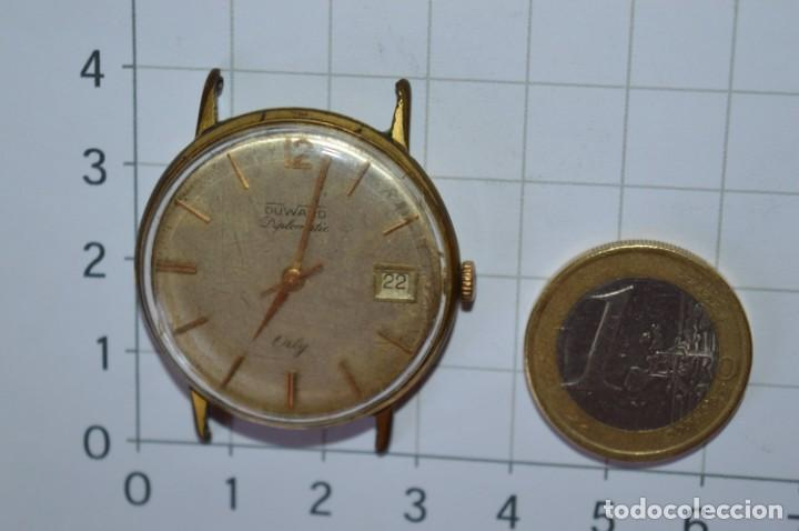 Relojes de pulsera: Vintage RELOJ PULSERA - DUWAR Orly / Made In SWISS / 17 RUBIS - Carga manual, funciona - ¡Mira! - Foto 4 - 256135875