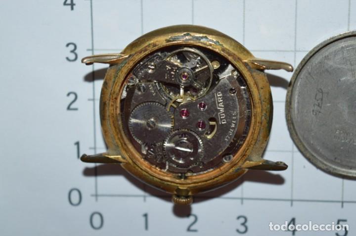 Relojes de pulsera: Vintage RELOJ PULSERA - DUWAR Orly / Made In SWISS / 17 RUBIS - Carga manual, funciona - ¡Mira! - Foto 13 - 256135875