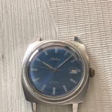 Relojes de pulsera: RELOJ HALCÓN CARGA MANUAL CALENDARIO VINTAGE 36 MM. Lote 257494865