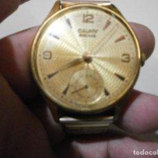 Relojes de pulsera: RELOJ CAUNY PRIMA GIGANTE XXL FUNCIONANDO PERFECTAMENTE ESFERA TESTURADA. Lote 257496550