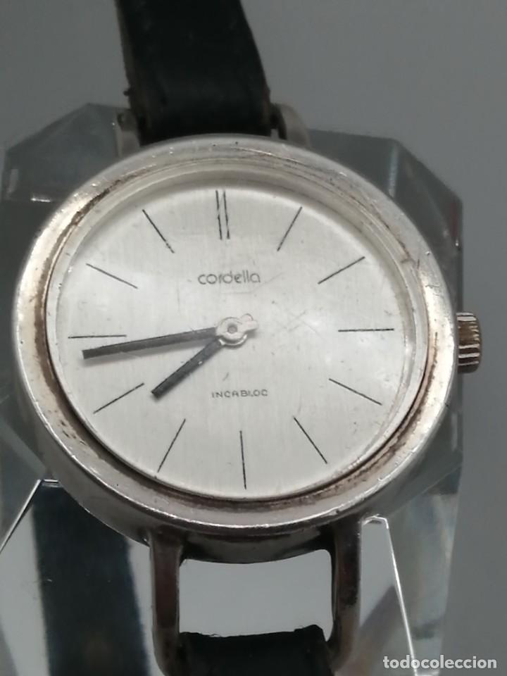 RELOJ PULSERA CORDELLA INCABLOC PLATA 835MLS CARGA MANUAL (Relojes - Pulsera Carga Manual)