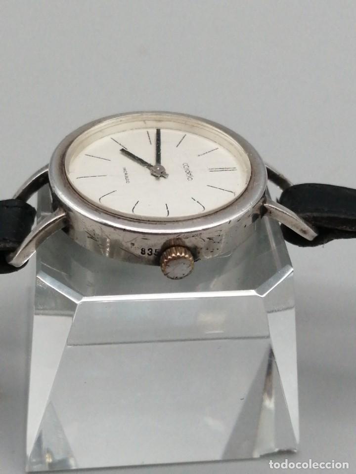Relojes de pulsera: Reloj pulsera Cordella incabloc plata 835mls carga manual - Foto 2 - 259931015