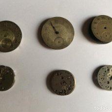 Relógios de pulso: LOTE 6 MAQUINARIAS ANTIGUAS CRONO LANDERON,.... Lote 260518815