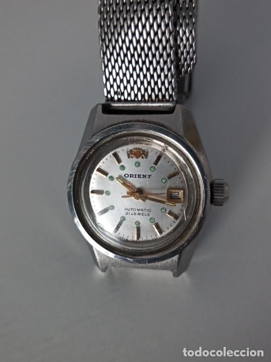 Relojes de pulsera: RELOJ DE PULSERA ORIENT AUTOMATIC PARA MUJER - Foto 3 - 260559475