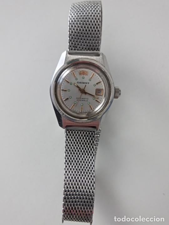 RELOJ DE PULSERA ORIENT AUTOMATIC PARA MUJER (Relojes - Pulsera Carga Manual)