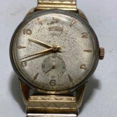 Relógios de pulso: RELOJ TECHNOS SELECT CARGA MANUAL MODELO GRANDE EN FUNCIONAMIENTO. Lote 260720415