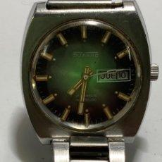 Relógios de pulso: RELOJ DUWARD CARGA MANUAL AÑOS 70 CAJA DE ACERO MODELO GRANDE VINTAGE EN FUNCIONAMIENTO. Lote 260744885