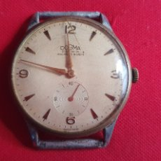 Relógios de pulso: RELOJ DOGMA PRIMA ANCRE 15 RUBIS ANTIMAGNETEC FUNCIONA UNOS SEGUNDOS Y PARA .MIDE 37.6 MM DIAMETRO. Lote 261265265