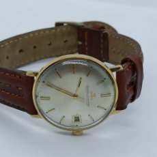 Relojes de pulsera: RELOJ JAEGER LECOULTRE ORÓ 18K. Lote 262186200