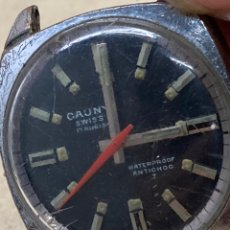 Relojes de pulsera: RELOJ CAUNY CARGA MANUAL PARA PIEZAS. Lote 262202475