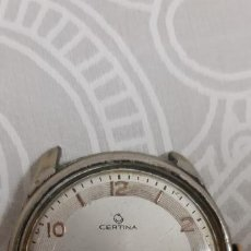 Relojes de pulsera: RELOJ CERTINA ANTIGUO CARGA MANUAL FUNCIONA PERFECTAMENTE. Lote 262329160