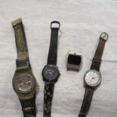 Relojes de pulsera: LOTE DE RELOJES PARA PIEZAS O RESTAURAR. Lote 262710975
