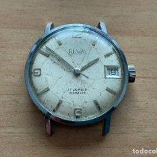 Relojes de pulsera: RUWAL 17 JEWELS INCABLOC 32MM FUNCIONA. Lote 262734635