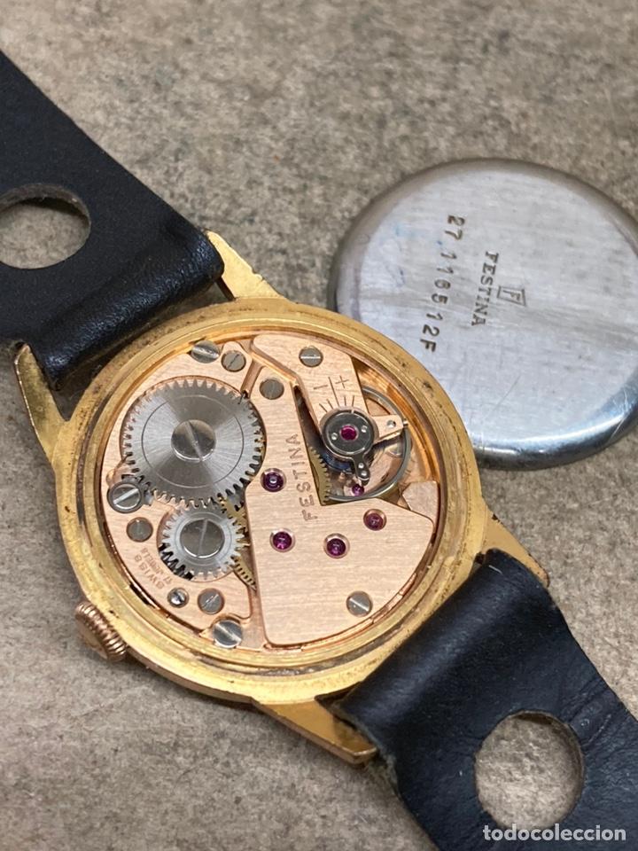Relojes de pulsera: Reloj Festina carga manual en funcionamiento caja chapada - Foto 3 - 262759395
