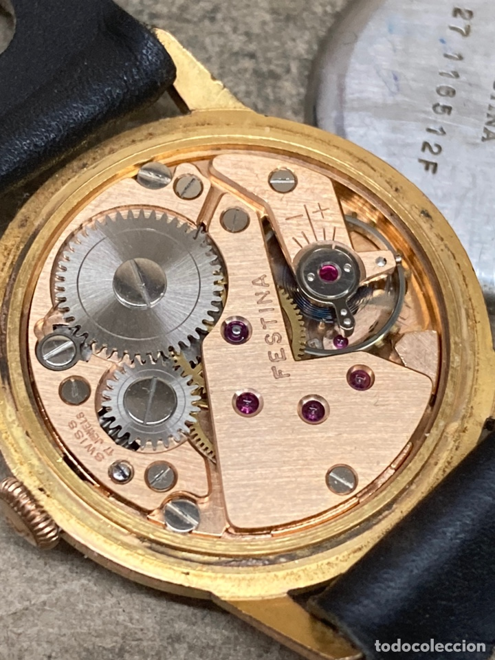 Relojes de pulsera: Reloj Festina carga manual en funcionamiento caja chapada - Foto 4 - 262759395