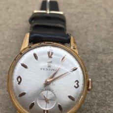 Relojes de pulsera: RELOJ FESTINA CARGA MANUAL EN FUNCIONAMIENTO CAJA CHAPADA. Lote 262759395