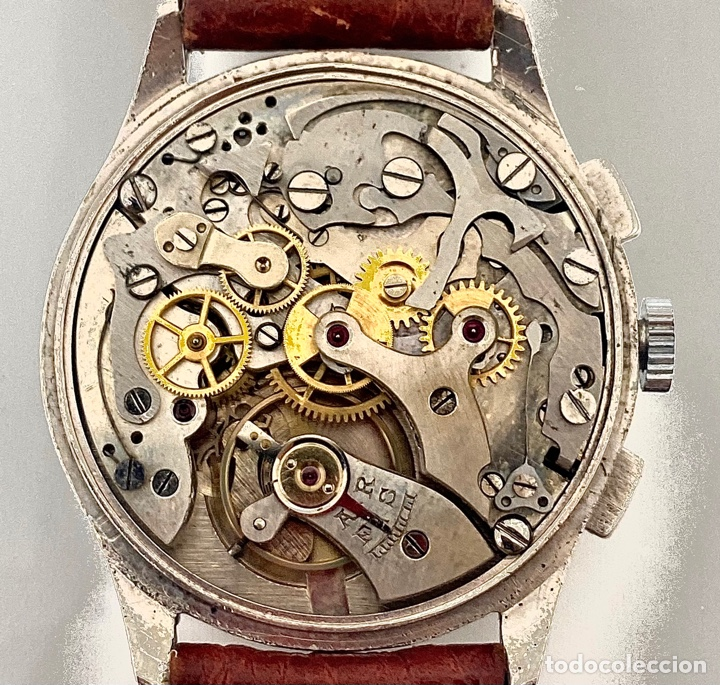 Relojes de pulsera: Reloj Cronógrafo cuerda manual - Foto 2 - 262759525