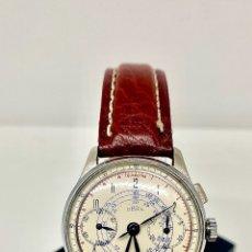 Relojes de pulsera: RELOJ CRONÓGRAFO CUERDA MANUAL. Lote 262759525