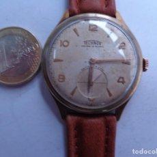 Relojes de pulsera: AÑOS 50 BONITO RELOJ CABALLERO A CUERDA TECHNOS FUNCIONANDO PERFECTO BUEN ESTADO. Lote 262771575