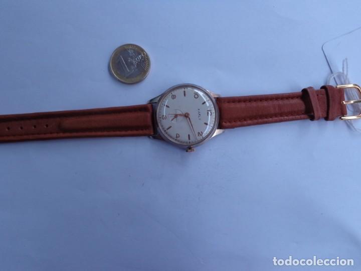 Relojes de pulsera: AÑOS 60 RELOJ CABALLERO CUERDA KARLY BUEN ESTADO COMPLETO Y FUNCIONANDO PERFECTO - Foto 2 - 262772605