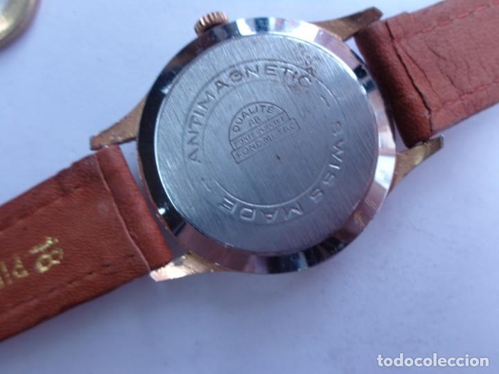 Relojes de pulsera: AÑOS 60 RELOJ CABALLERO CUERDA KARLY BUEN ESTADO COMPLETO Y FUNCIONANDO PERFECTO - Foto 4 - 262772605
