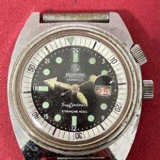 Relojes de pulsera: RELOJ DE PULSERA DE CARGA MANUAL, MORTIMA SUPERDATOMATIC. FUNCIONA. Lote 262799925