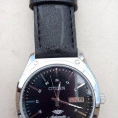 Relojes de pulsera: CITIZEN AUTOMÁTICO CARGA MANUAL FUNCIONA MAL. PARA REVISAR O PIEZAS. AGUJAS SUELTAS.. Lote 262808005