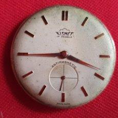 Relojes de pulsera: MAQUINARIA KISMET 17 JEWELS .MIDE 31.4 MM DIAMETRO. Lote 262875460