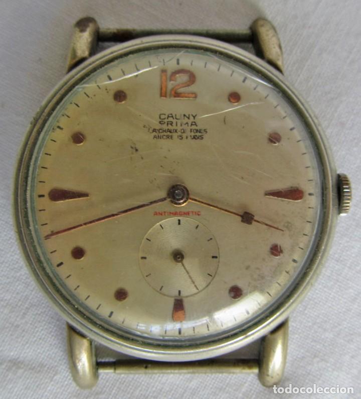 Relojes de pulsera: Reloj de pulsera Cauny Prima La Chaux de Fonds, funcionando - Foto 2 - 262910745