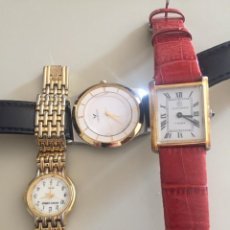 Relojes de pulsera: LOTE 3 RELOJES DE PULSERA. Lote 263043945