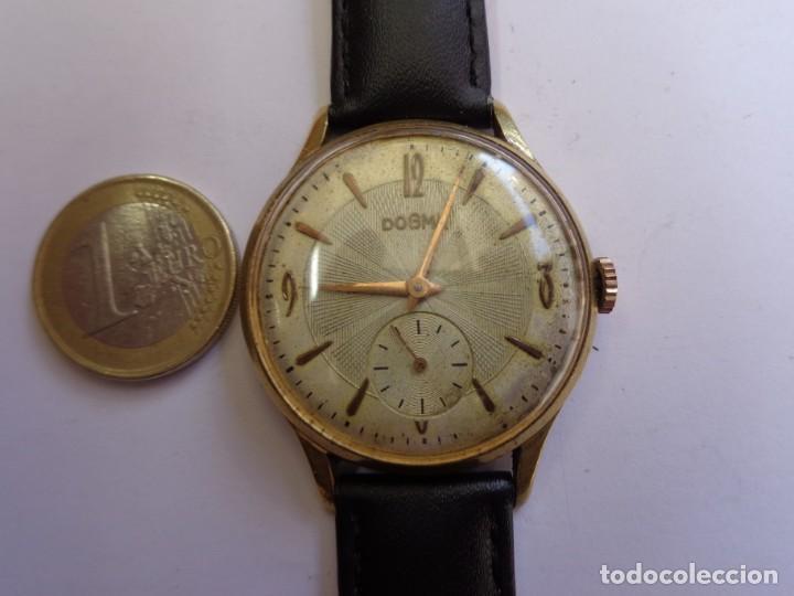 AÑOS 50 BONITO RELOJ CABALLERO A CUERDA DOGMA FUNCIONANDO PERFECTO BUEN ESTADO (Relojes - Pulsera Carga Manual)