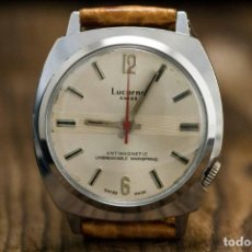Relojes de pulsera: LUCERNE SWISS VINTAGE WATCH 70'S. Lote 263958600