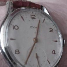 Relojes de pulsera: RELOJ CYMA 15 RUBIS CALIBRE 586 DE CARGA MANUAL FUNCIONA PERFECTO. Lote 264787989