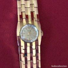 Relojes de pulsera: ANTIGUO RELOJ DE SEÑORA AÑOS 50 PLAQUE ORI. Lote 264959614