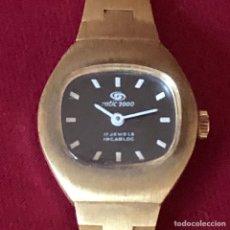 Relojes de pulsera: ANTIGUO RELOJ DE SEÑORA ROTIC 2000DE CUERDA MANUAL. Lote 264970529