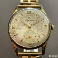 Relojes de pulsera: CERTINA 28-10 17 JEWELS 34MM FUNCIONA. Lote 265808284