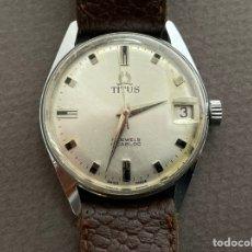 Relojes de pulsera: SOLVIL ET TITUS 7057B 17 JEWELS INCABLOC WATERPROOF NON MAGNETIC FUNCIONA. Lote 266308613