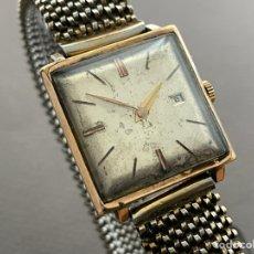 Relojes de pulsera: TITÁN 17 JEWELS PLAQUE OR 28MM. FUNCIONA.. Lote 266505348