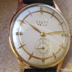 Relojes de pulsera: ANTIGUO RELOJ DE CUERDA CAUNY PRIMA 15 RUBIS. Lote 266591198