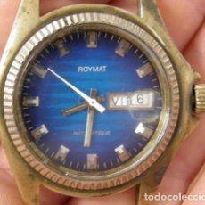 Relojes de pulsera: RELOJ DORADO ROYMAT AUTOMATIQUE. Lote 266646418