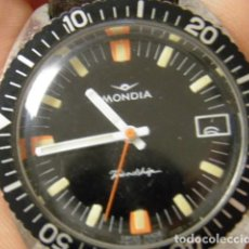 Relojes de pulsera: RELOJ MONDIA FRIENDSHIP ,INCABLOC,AÑOS 60/70. Lote 266682783